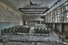 Soviet movie theater