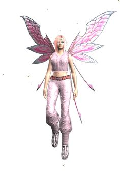 'Zinnia' is my Ranger in EQ2.  I really need to level her more, as she is a fun character.