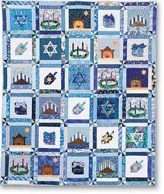 Pattern: One Happy Family Christian, Messianic Jewish Wall Hanging