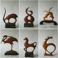 woodcarving--animal-series 02 by LINWANG
