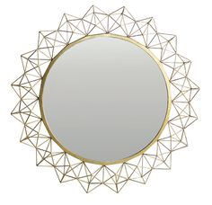 Kaleidoscope Mirror Large - Metal Frame