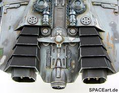 Battlestar Galactica: Cylon Raider, Modell-Bausatz ... https://spaceart.de/produkte/bg004.php