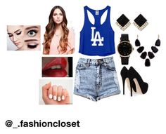 """""""beyonce"""" by thereshego2 on Polyvore featuring Victoria's Secret PINK, Giuseppe Zanotti, Marc by Marc Jacobs and John Lewis"""