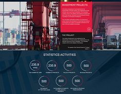 """Check out new work on my @Behance portfolio: """"Landing page / Finance""""…"""