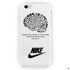 Nike Just Do It Quote Sport Logo For iPhone 6 / 6 Plus Case