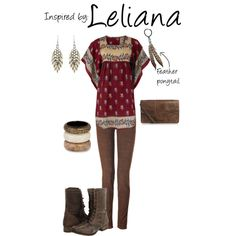 Leliana (Dragon Age), created by ladysnip3r on Polyvore