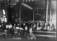 Children's Room, Main Library. The library's first Children's Room opened in 1900. The first story hour was held there in 1901.