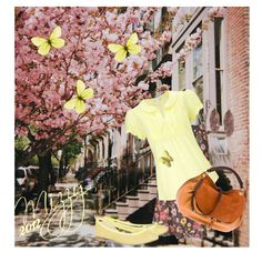 Spring Blossems, created by valerie-mizzy-gerard-hulse on Polyvore