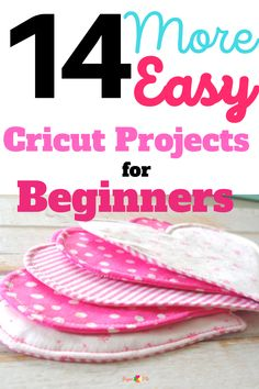 14 More Easy Cricut Projects for Beginners No More Excuses, Make And Sell, Craft Fairs, Wooden Signs, Cricut, Easy, Projects, Crafts, Things To Sell