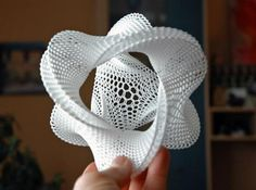 Check out Honeycomb-borromean-surface by MindEversion on Shapeways and discover more 3D printed products in Mathematical Art.