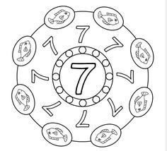 Numbers mandala coloring pages Jesus Scriptures, Stress Factors, Mandala Coloring Pages, Group Work, Math For Kids, Primary School, Classroom Decor, Preschool Activities, Worksheets
