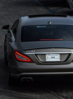 Mercedes CLS...this model has my initials, so I absolutely NEED this!