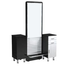 Double Sided Hair Styling Stations Genesis Doublesided Styling Station In Black  Home Salon .
