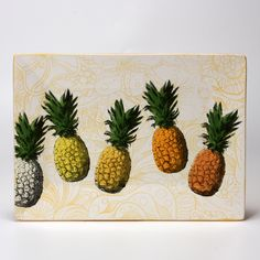 Pineapple Party Plate - silkscreens and Stroke & Coat! Party Plates, Pottery Ideas, Dinnerware, Pineapple, Crafty, Eat, Drink, Fruit, Gallery
