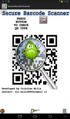 Sicurezza - Secure Barcode Scanner.