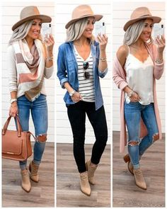 If you could only wear one outfit for the rest of your life, what would it be? Mine would prolly be something like outfit of these… Outfits With Hats, Fall Fashion Outfits, Mom Outfits, Casual Fall Outfits, Fall Winter Outfits, Look Fashion, Autumn Winter Fashion, Spring Outfits, Trendy Outfits