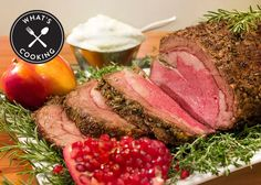 Prime Rib Roast with Garlic and Rosemary Recipe from Nordstrom