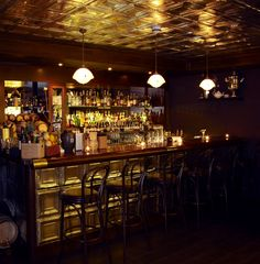 The Nightjar in Shoreditch, Greater London. One of the best speakeasy in the world. Drink like you were in the 20s.