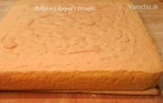 Piškotový korpus z 10 vajec (fotorecept) 20 Min, Cornbread, Ale, Food And Drink, Dairy, Cheese, Ethnic Recipes, Hampers, Food Items
