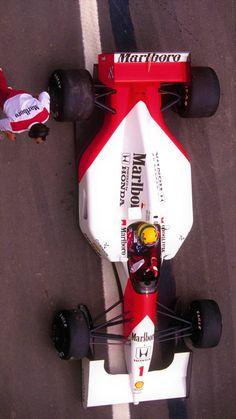 Ayrton Senna, 1992 McLaren MP4-7