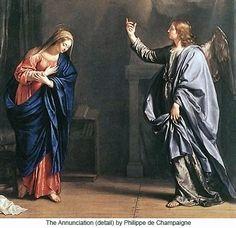 Annunciation by Philippe de Champaigne