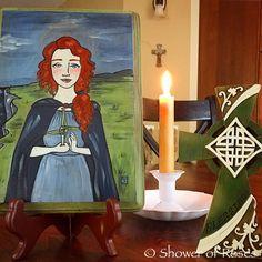 Shower of Roses: Celebrating the Saints :: St. Brigid of Ireland