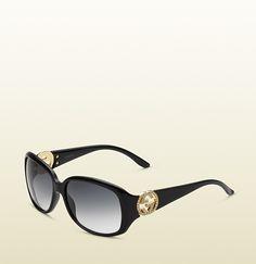 Gucci - women's elegant oval shaped sunglasses 315015J13231065