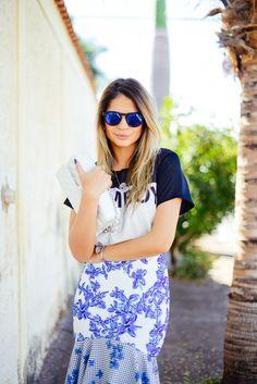 Thassia Naves -  SunGlasses  Illesteva