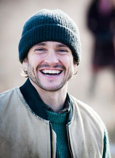 It is nice to see Hugh Dancy smiling through tortured Will Graham.