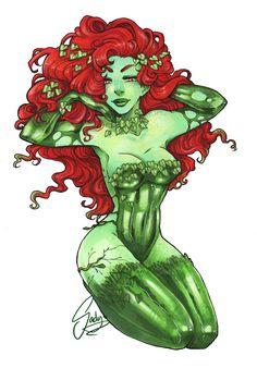 Poison Ivy by Sadyna.deviantart.com on @deviantART