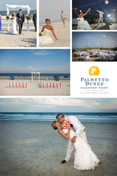 Just steps away from the beach, Palmetto Dunes is the perfect location for your dream wedding.