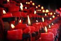 Prayer Candles at St. Nino Church, Cebu, Philippines