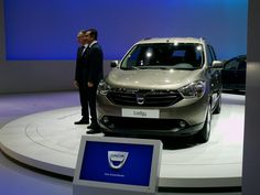 The Dacia Lodgy was presented at the Geneva Motor Show