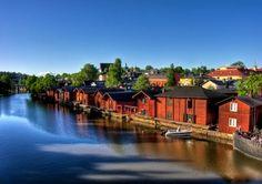 Southern Finland, Porvoo. 50 kms aways from Helsinki the capital.