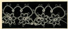 5502 Vintage Tatting PATTERN for Tatted Flower by BlondiesSpot, $1.99