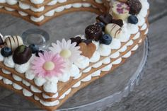 Torta v tvare srdca, recept, Torty | Tortyodmamy.sk Food, Bakken, Essen, Meals, Yemek, Eten