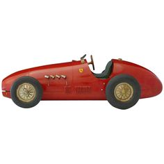 Ferrari F500 F2 Model | From a unique collection of antique and modern decorative objects at https://www.1stdibs.com/furniture/more-furniture-collectibles/decorative-objects/