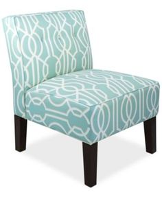 Calabasas Deco Fabric Accent Chair, Direct Ships for just $9.95 | macys.com