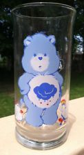Vintage Care Bears Pizza Hut LE Collector's Series GRUMPY BEAR Drink Glass