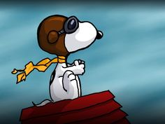 Snoopy Red Baron Peanuts (Comic Strip). I love snoopy and his alter egos!