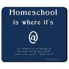#homeschool mousepad