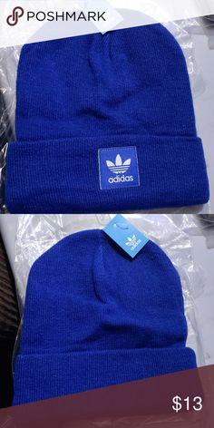 72b314a50d1 Adidas beanie. Brand new with tags Adidas beanie. All blue beanie. Brand new