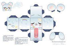 La Casita de Caro: Osito Kawaii Papercraft!!