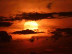 2011 04 25 Le coucher du soleil