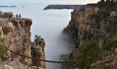 grand canyon inversion | lifesection grand canyon cloud nature cloud inversion