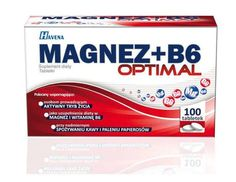 Optimal magnesium   B6 x 100 tablets