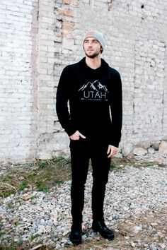 Utah Live Elevated☽ ✩ Save 25% off all orders with code PINTERESTXO at checkout | Fall Hoodies Fashion Beanie Caps & Adventure Wear by Lady Scorpio | Utah Collection • Shop Now LadyScorpio101.com | @LadyScorpio101 | Photography Luna Blue @Luna8lue Model Johnny Peterson @UtahliveElevated