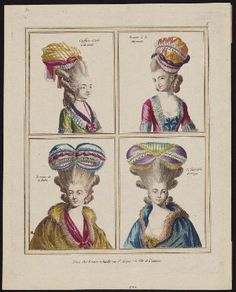 Gallerie des Modes, 1776  Heavens! Those are quite colorful…