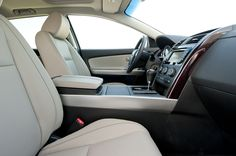 2014 White Mazda CX9 Overall Interior