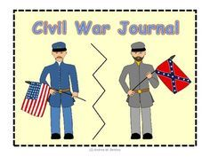 This Civil War Journal is the perfect tool to use in your discussion of the American Civil War. Students assemble their own journals and decorate the cover. There are 13 journal topics for the students to complete as the Civil War unit is taught. ($)